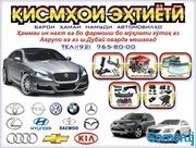 Автостекло и Автозапчасти для всех марок Автомобилей!