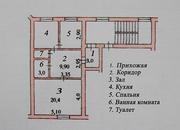 Продаётся 2-х комнатная  квартира в центре г.Худжанда
